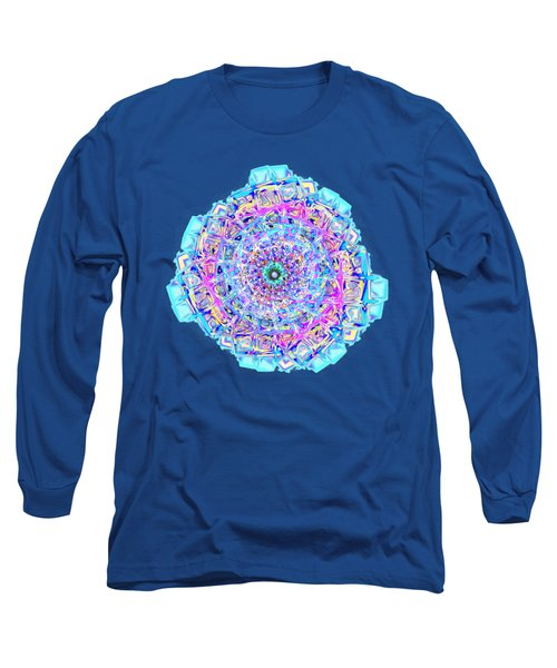 Murano Glass - Blue Long Sleeve T-Shirt
