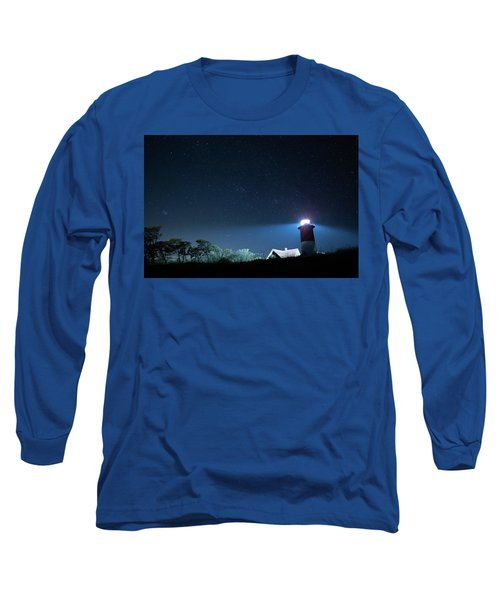 Nauset Light Under The Stars Long Sleeve T-Shirt