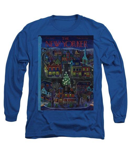 New Yorker December 15, 1951 Long Sleeve T-Shirt