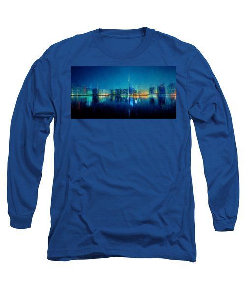 Night Of The City Long Sleeve T-Shirt