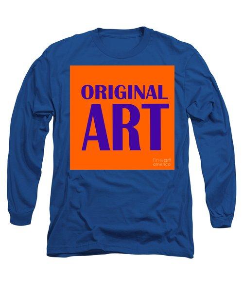Original Artwork Long Sleeve T-Shirt