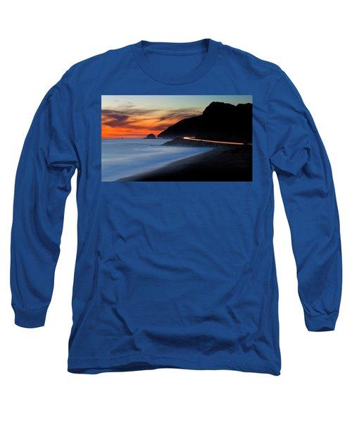 Pacific Coast Highway Long Sleeve T-Shirt