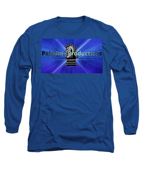Paladin-productions.com Logo Long Sleeve T-Shirt