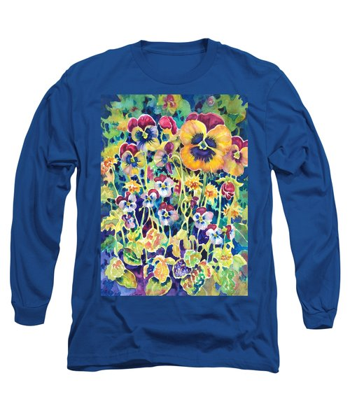 Pansies And Violas Long Sleeve T-Shirt