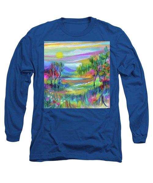 Pastel Landscape Long Sleeve T-Shirt