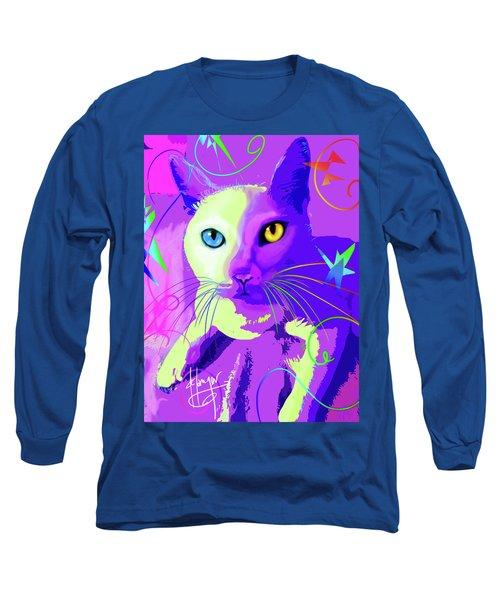 pOp Cat Cotton Long Sleeve T-Shirt