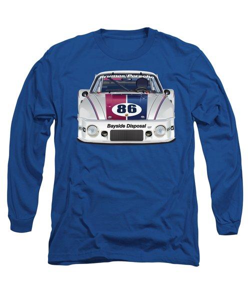 Porsche 925 Brumos No Background Long Sleeve T-Shirt