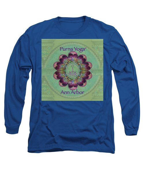 Purna Yoga Ann Arbor Long Sleeve T-Shirt