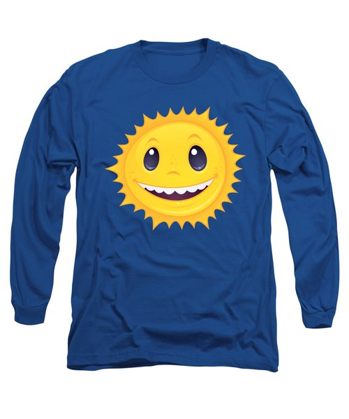 Smiley Sun Long Sleeve T-Shirt