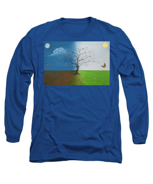 Spirit Of Eden Long Sleeve T-Shirt