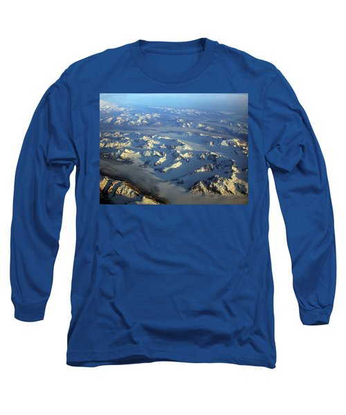 Sun Kissed Glaciers Long Sleeve T-Shirt