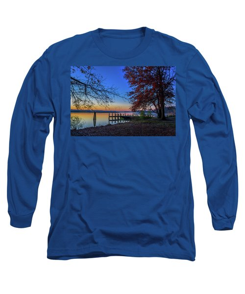 Sunrise On The Patuxent Long Sleeve T-Shirt