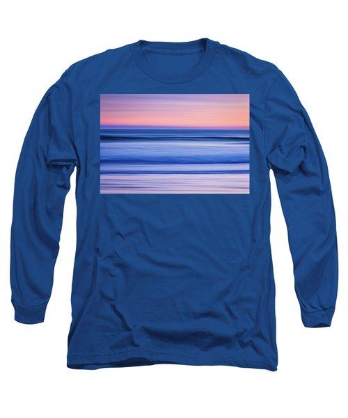 Sunset Abstract Long Sleeve T-Shirt