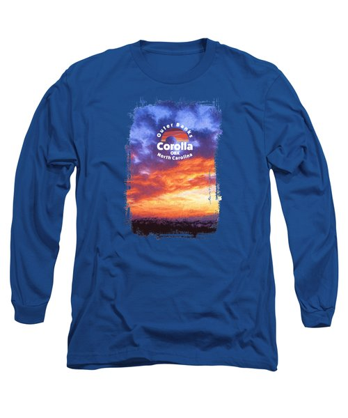 Sunset In Carolina Long Sleeve T-Shirt
