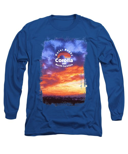 Sunset In Carolina Long Sleeve T-Shirt