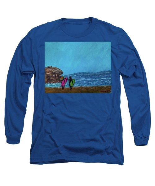 Surfer Girls Long Sleeve T-Shirt