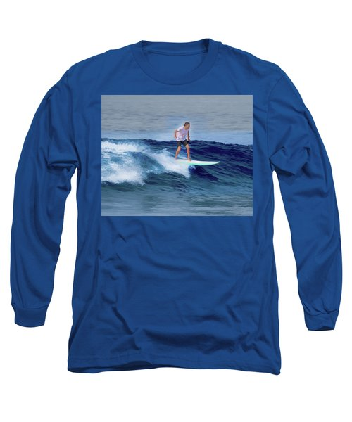 Surfing Andy Long Sleeve T-Shirt