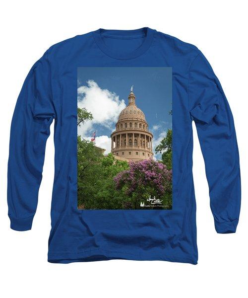 Texas Capital Building Long Sleeve T-Shirt