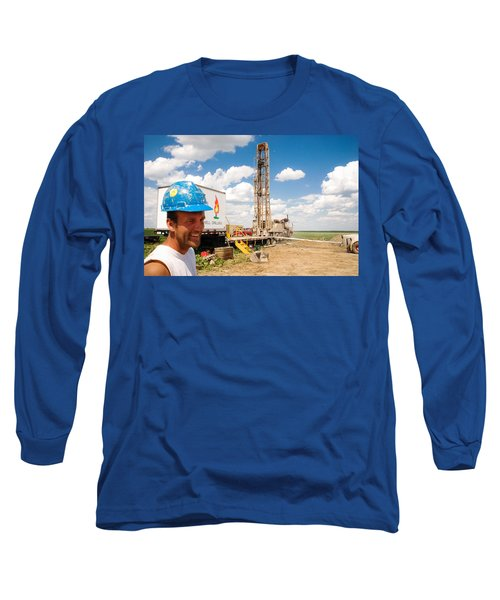 The Gas Man Long Sleeve T-Shirt