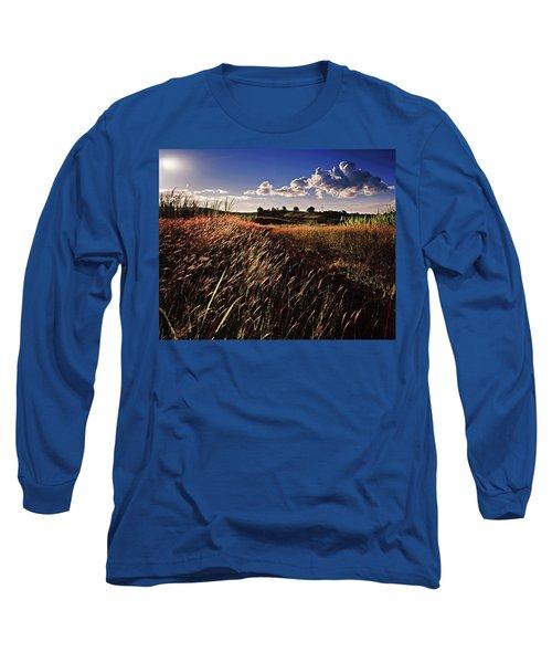 The Last Grassy Field, Trinidad Long Sleeve T-Shirt
