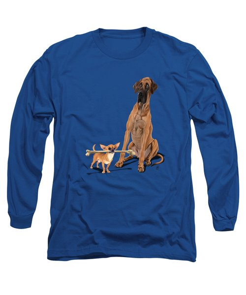 The Long And The Short And The Tall Colour Long Sleeve T-Shirt