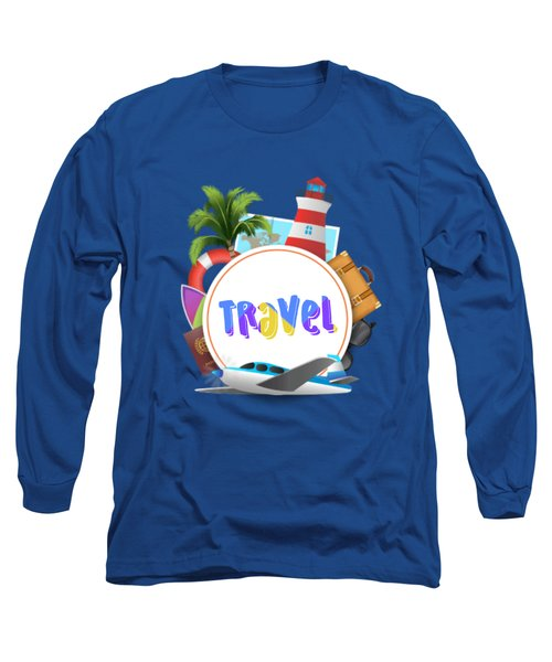 Travel World Long Sleeve T-Shirt