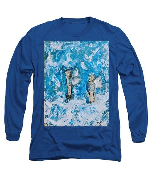 Twin Boy Angels Long Sleeve T-Shirt