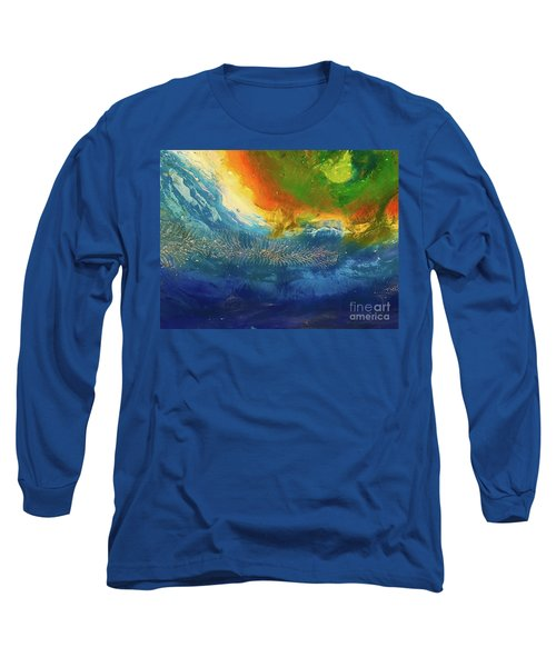 View From Space Long Sleeve T-Shirt