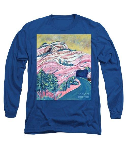 Wavy Rocks Long Sleeve T-Shirt