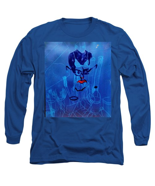 When His Face Is Blue For You Long Sleeve T-Shirt