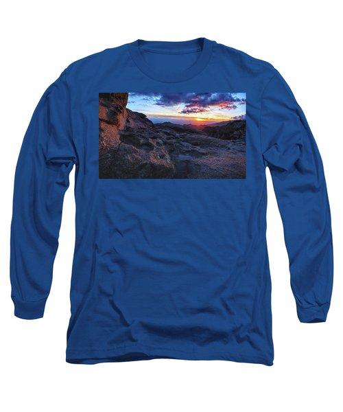 Windy Point Sunset Long Sleeve T-Shirt