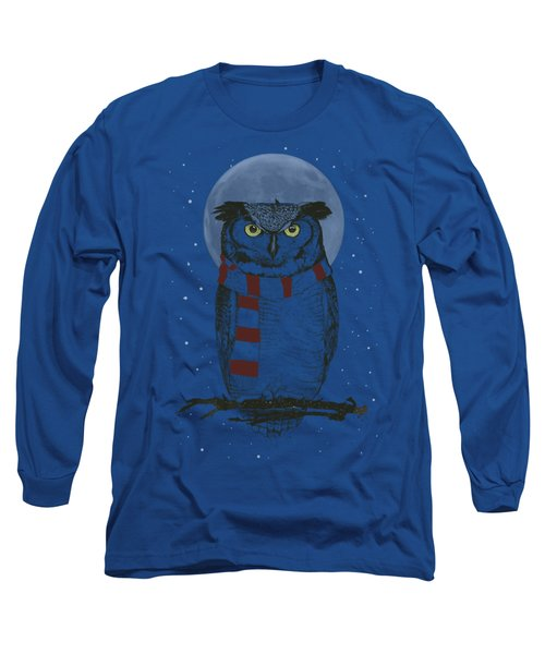 Winter Owl Long Sleeve T-Shirt