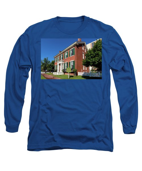 Woodrow Wilson Boyhood Home - Augusta Ga 2 Long Sleeve T-Shirt