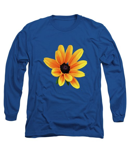 Yellow Flower Black Eyed Susan Long Sleeve T-Shirt