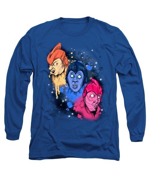 Zeebo, Mac, Wiploc  Long Sleeve T-Shirt