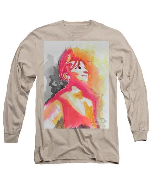 Barbra Streisand Long Sleeve T-Shirt