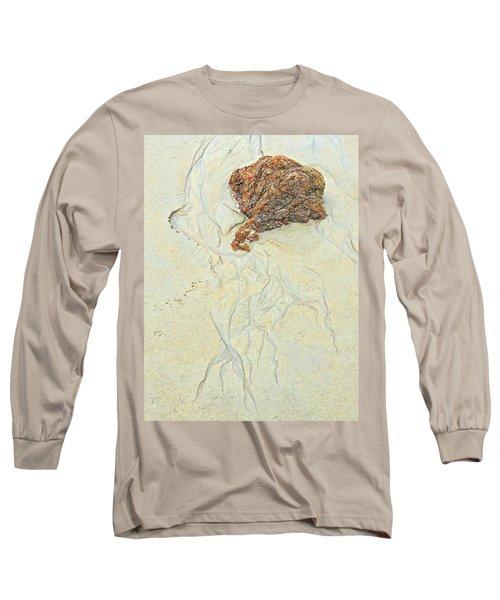 Beach Sand  2 Long Sleeve T-Shirt by Marcia Lee Jones