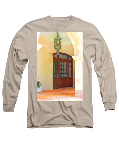 Long Sleeve T-Shirt featuring the photograph  Elegant Arched Entrance by Judy Palkimas