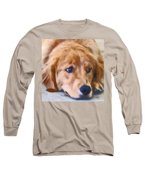 Golden Retriever Dog Long Sleeve T-Shirt