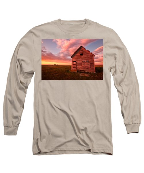Long Sleeve T-Shirt featuring the photograph  No Trespassing by Ronda Kimbrow