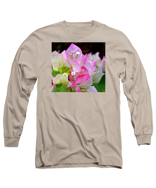 Pink  Bougainvillea ...with A Friend Long Sleeve T-Shirt