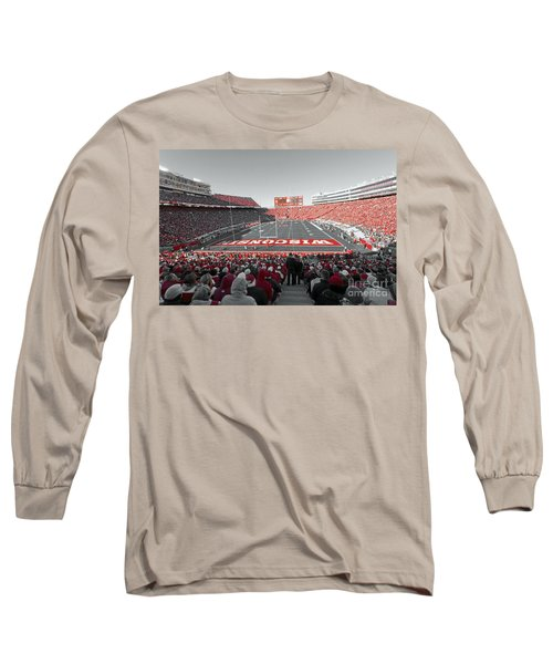 0096 Badger Football Long Sleeve T-Shirt