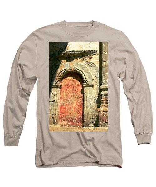 0584 San Juan Capistrano Mission Long Sleeve T-Shirt