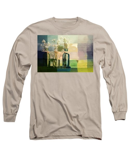 1-2-3 Bottles - J091112137 Long Sleeve T-Shirt