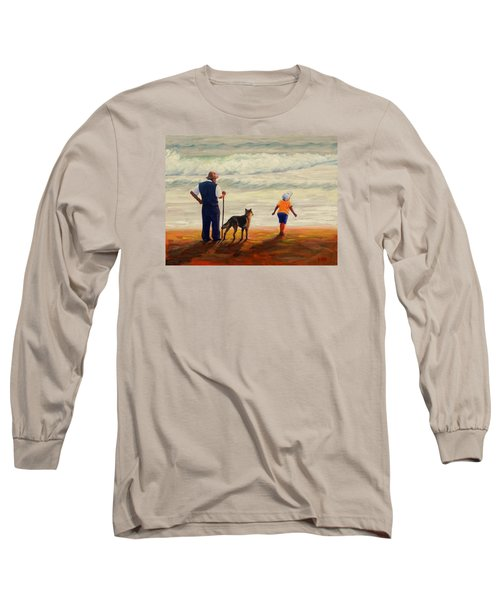 A Wish To The Waves, Peru Impression Long Sleeve T-Shirt