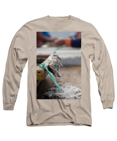 Bait On Hooks  Long Sleeve T-Shirt