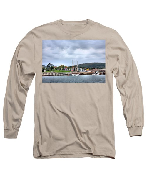 Bar Harbor Maine Long Sleeve T-Shirt by Kristin Elmquist