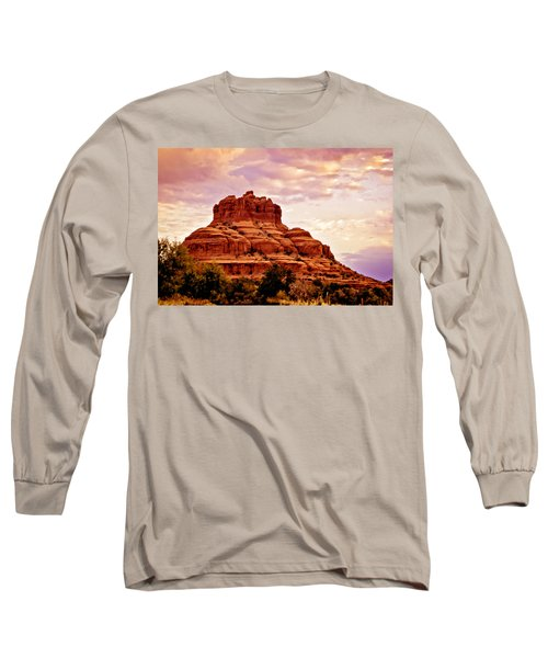 Bell Rock Vortex Painting Long Sleeve T-Shirt