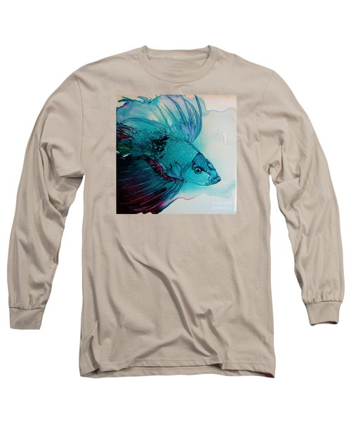 Betta Dragon Fish Long Sleeve T-Shirt