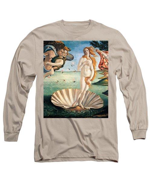 Birth Of Venus Long Sleeve T-Shirt